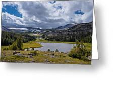 Rydberg Lake Greeting Card