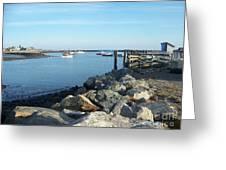 Rye Harbor  Greeting Card