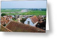 Rye Roofs Greeting Card