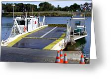 Ryer And Grand Island Ferry Greeting Card