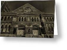 Ryman Auditorium Greeting Card by Dan Sproul
