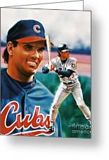 Ryne Sandberg Greeting Card