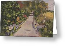 S. Dyer Neck Rd. - Art By Bill Tomsa Greeting Card