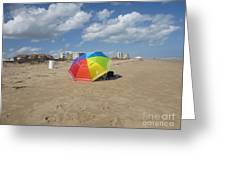 Sa Place Au Soleil / One's Place In The Sun Greeting Card