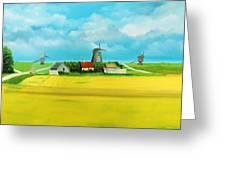 Saaremaa Island Estonia Greeting Card