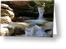 Sabbaday Falls Gorge Greeting Card