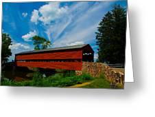 Sachs Bridge Greeting Card