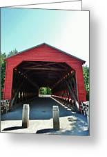 Sachs Covered Bridge 3 Greeting Card