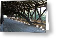 Saco River Covered Bridge Nh Greeting Card