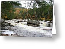 Saco River Rapids North Conway I Greeting Card