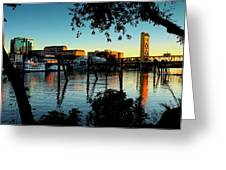 Sacramento At Dusk Greeting Card