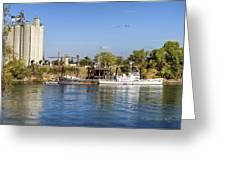 Sacramento River Scene Greeting Card