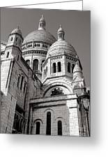 Sacre Coeur Architecture  Greeting Card