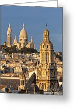 Sacre Coeur - Paris Greeting Card
