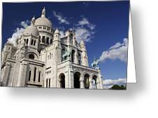 Sacre Coeur Paris Greeting Card