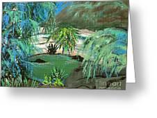 Sacred Cenote At Chichen Itza Greeting Card