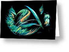 Sacred Feather Dance Greeting Card