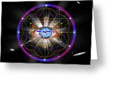 Sacred Geometry 100 Greeting Card
