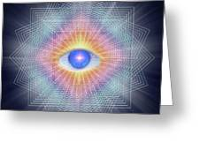 Sacred Geometry 101 Greeting Card