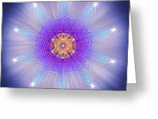 Sacred Geometry 144 Greeting Card