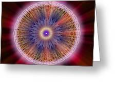 Sacred Geometry 176 Greeting Card