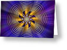 Sacred Geometry 184 Greeting Card