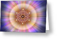 Sacred Geometry 185 Number 2 Greeting Card