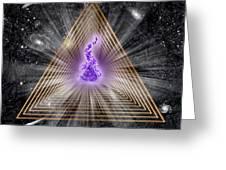 Sacred Geometry 186 Greeting Card