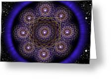 Sacred Geometry 218 Greeting Card