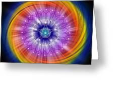 Sacred Geometry 244 Greeting Card