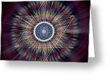 Sacred Geometry 317 Greeting Card