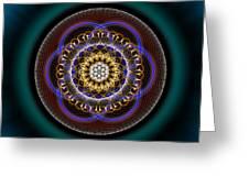 Sacred Geometry 332 Greeting Card
