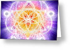 Sacred Geometry 67 Greeting Card