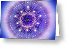 Sacred Geometry 69 Greeting Card