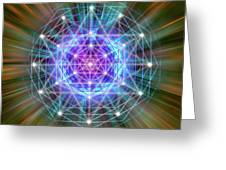 Sacred Geometry 72 Greeting Card
