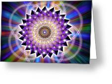 Sacred Geometry 74 Greeting Card