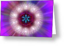 Sacred Geometry 76 Greeting Card