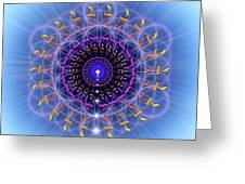 Sacred Geometry 78 Greeting Card