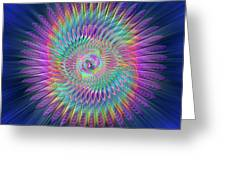 Sacred Geometry 87 Greeting Card