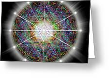 Sacred Geometry 89 Greeting Card