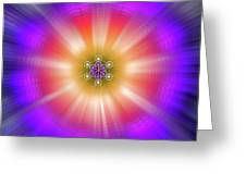 Sacred Geometry 90 Greeting Card