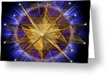 Sacred Geometry 91 Greeting Card