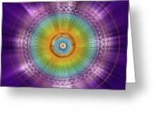 Sacred Geometry 96 Greeting Card