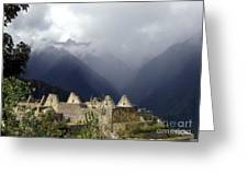 Sacred Mountain Echos Greeting Card