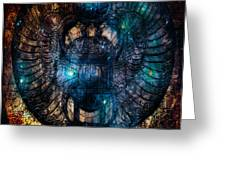 Sacred Scarab Greeting Card