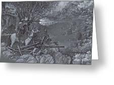 Saddle Sniper Greeting Card