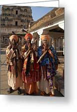 Sadus Holy Men Of India Greeting Card