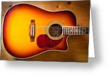 Saehan Guitar Body Greeting Card