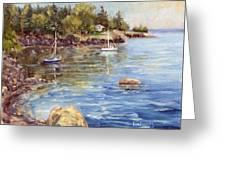 Safe Harbor - Oak Point Greeting Card