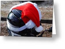 Safety First Santa Greeting Card